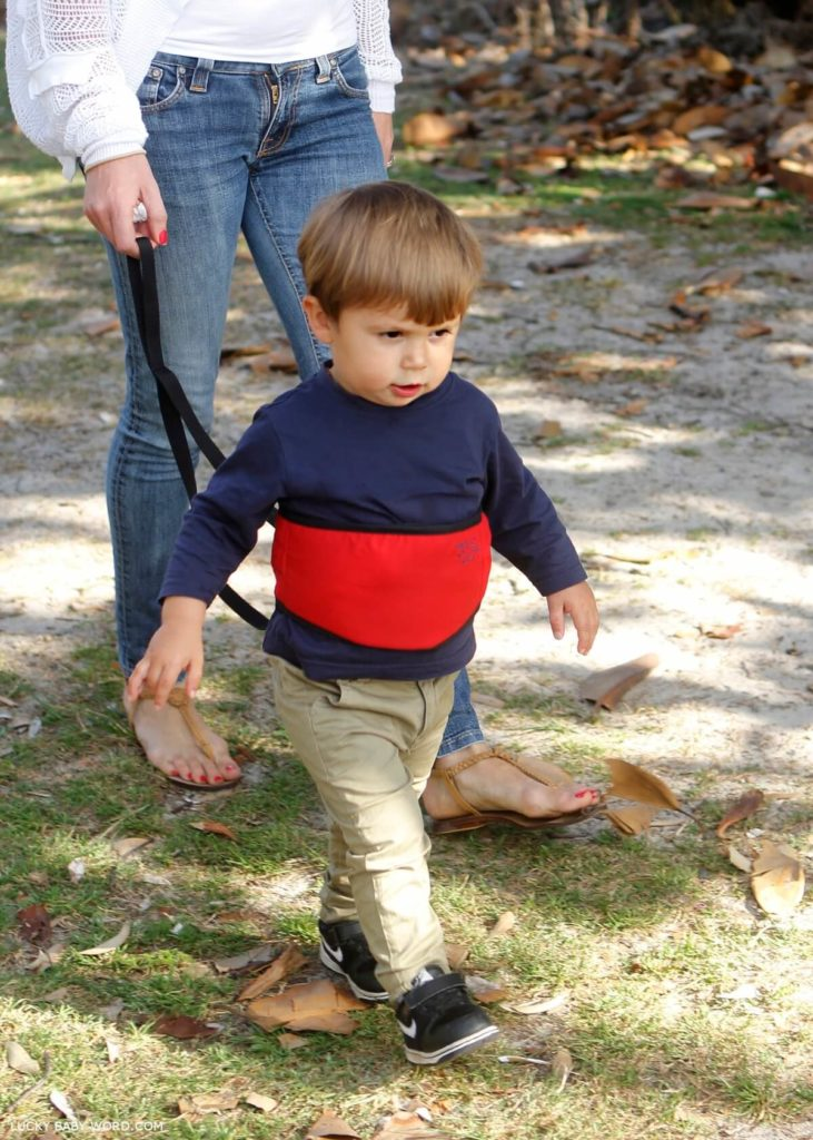 Using A Child Leash To Keep My Kid Safe