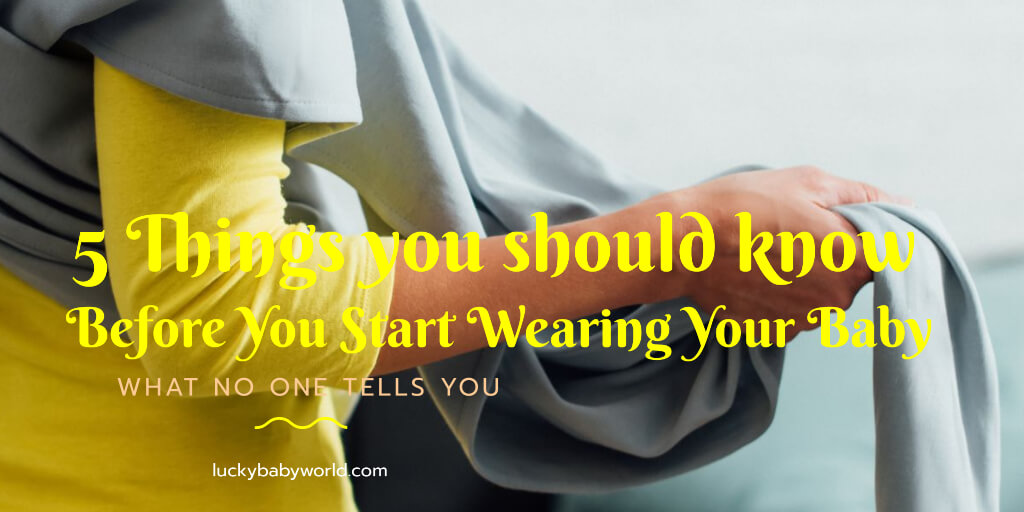 wearing your baby